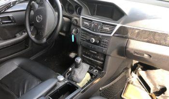 Mercedes E 220 CDI W212 lleno