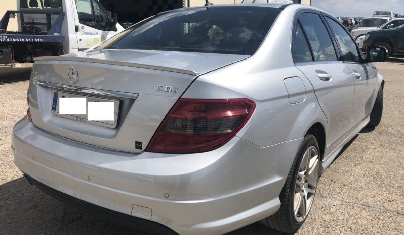 Mercedes C220 CDI W204 lleno