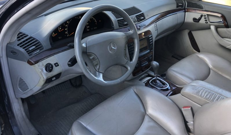 Mercedes S 400 CDI W220 lleno