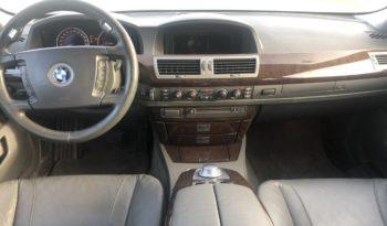 BMW 740 D E65 lleno