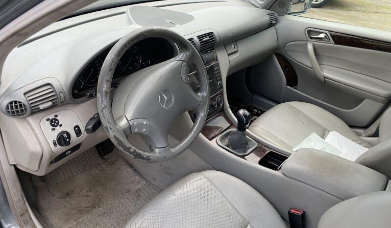 Mercedes C 200 Kompresor lleno